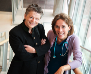 Drs. Sylvia Stockler and Clara van Karnebeek